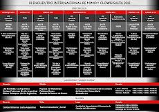 III ENCUENTRO INTERNACIONAL DE MIMO Y CLOWN SALTA 2012