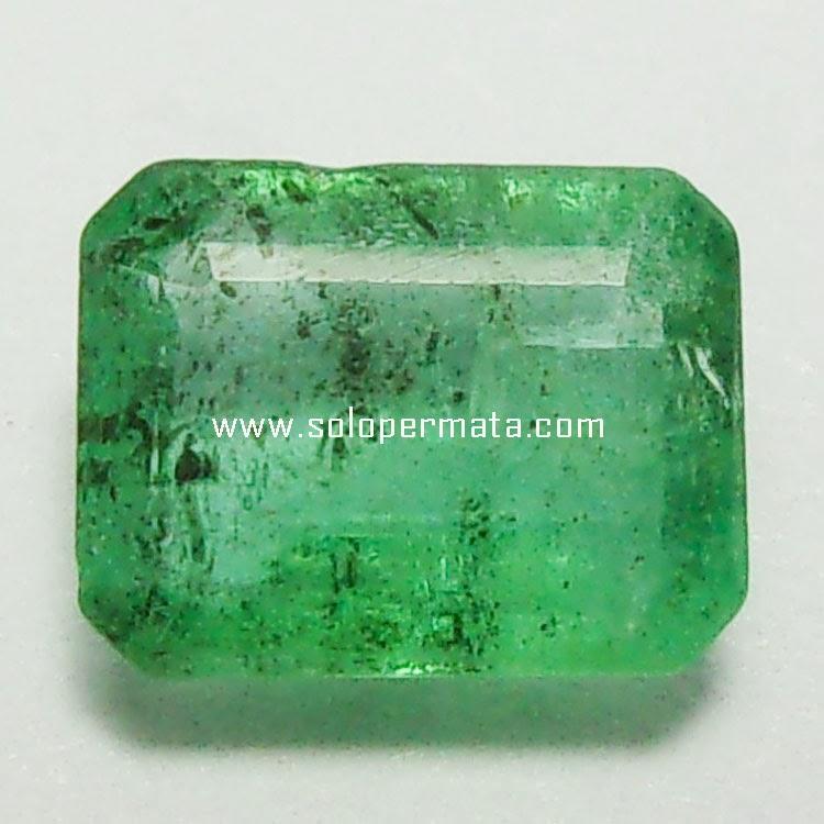 Batu Permata Zamrud Emerald Beryl - 27A03