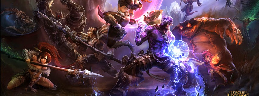 Ryze League of Legends Facebook Cover PHotos