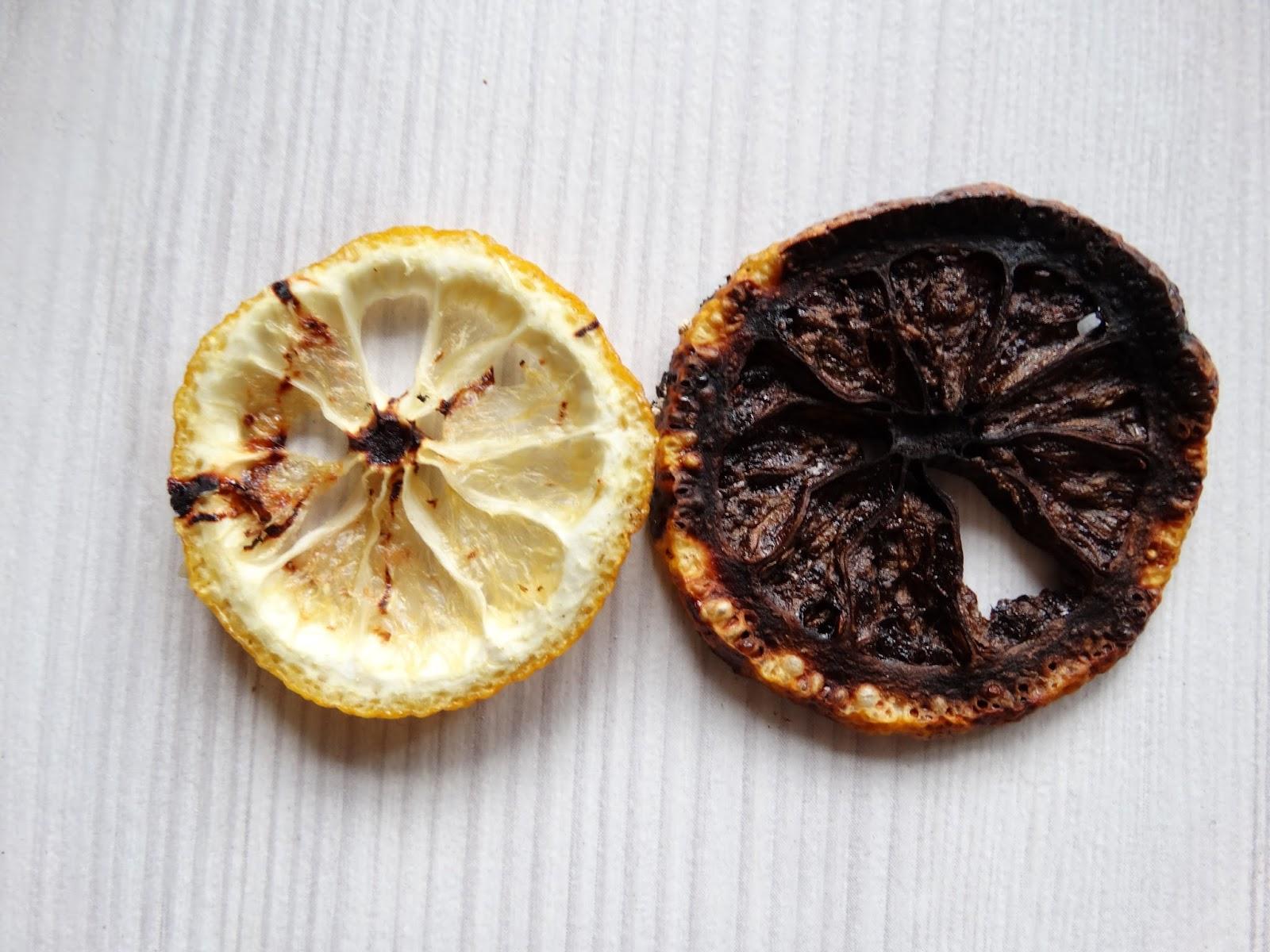 Засушить лимон для декора в микроволновке
