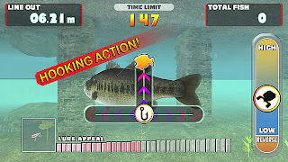 Lets Fish! Hooked On Fishing Gameplay