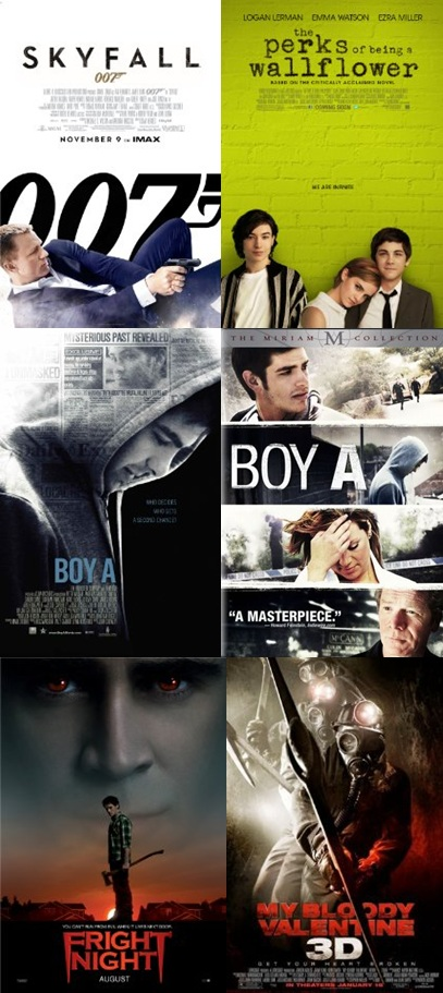 November films / películas de noviembre