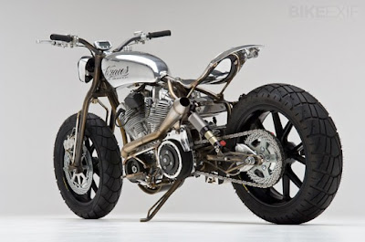 ACHUMA Cafe Racer Motorcycle – Cafe racer-style motorcycle with custom paint chrome is gorgeous, giving a fresh and fun.