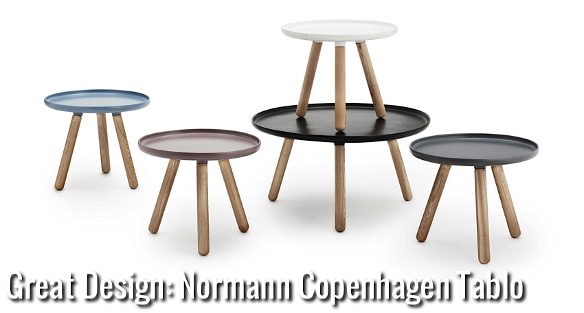 great design normann copenhagen tablo nordic days by flor linckens. Black Bedroom Furniture Sets. Home Design Ideas