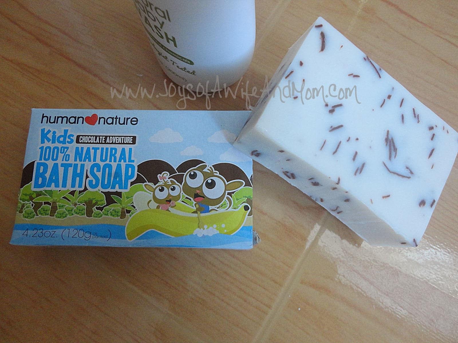 Product Review: Human ♥ Nature Kids 100% Natural Bath Soap (Chocolate Adventure)