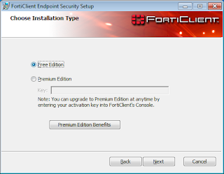 Choose Installation Type