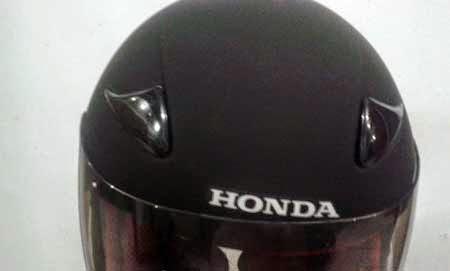 Helm gratisan Honda