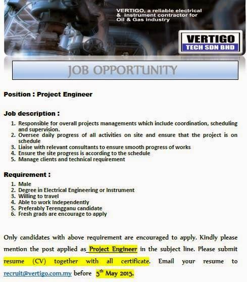 Jawatan Kosong Vertigo Tech Sdn Bhd