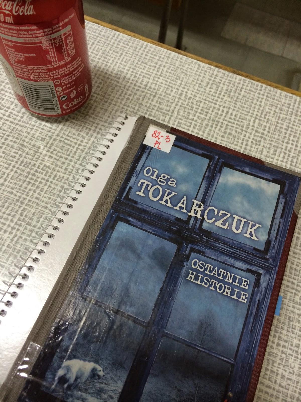 """Ostatnie historie"" Olga Tokarczuk"