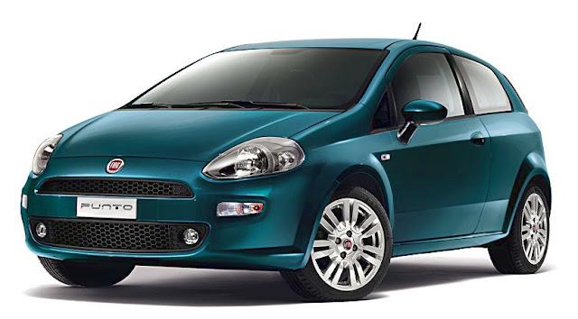 Fiat Punto 2012 anteriore