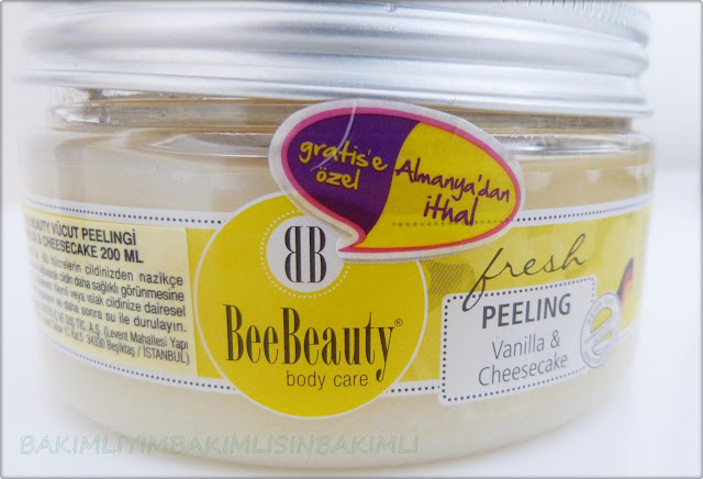bee beauty vanilya body peeling review
