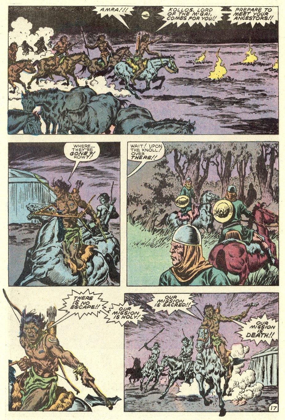 Conan the Barbarian (1970) Issue #182 #194 - English 18