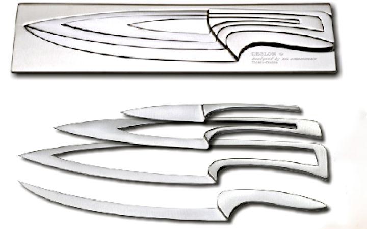 Beautiful Brilliant Knife Set Design