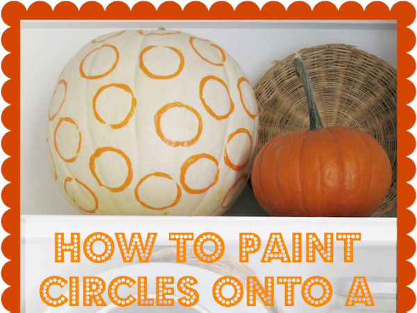 Carving and Painting Pumpkins