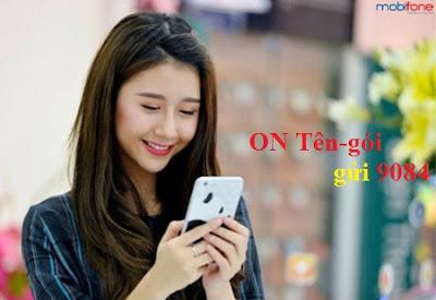 Cú pháp đăng ký gói cước 3G Mobifone giới hạn dung lượng