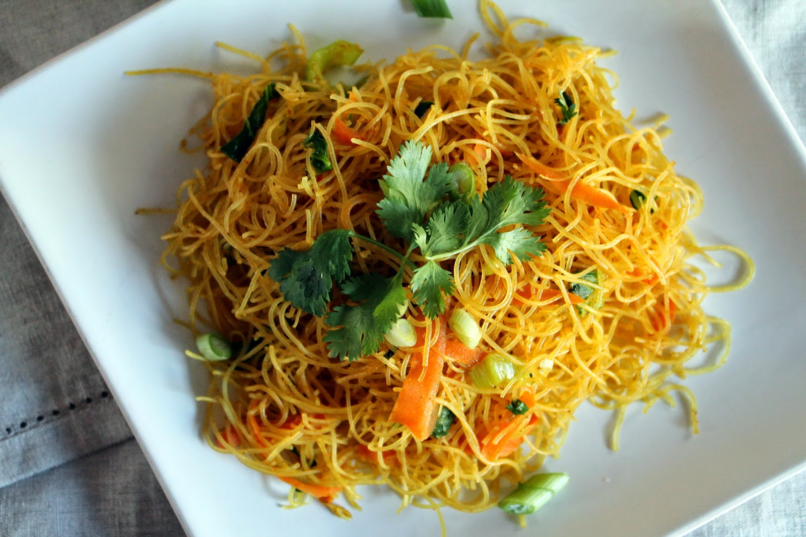 Something Yummy This Way Comes: Singapore Noodles