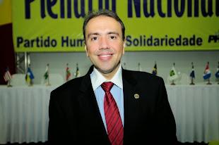 """""""O Presidente  Eduardo Machado agradece confiança do eleitor e parabeniza trabalho dos filiados"""""""