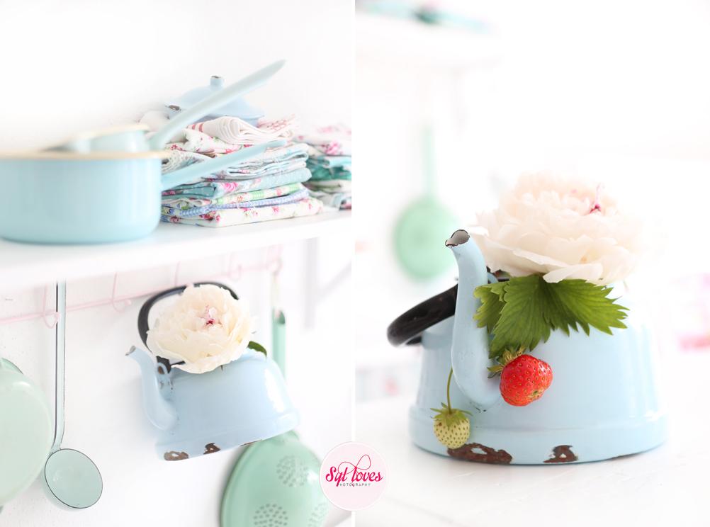 Syl loves, minty, mint, pastel, Erdbeereis, Wassereis, Emaille