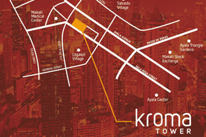 Kroma Tower Makati Location Map