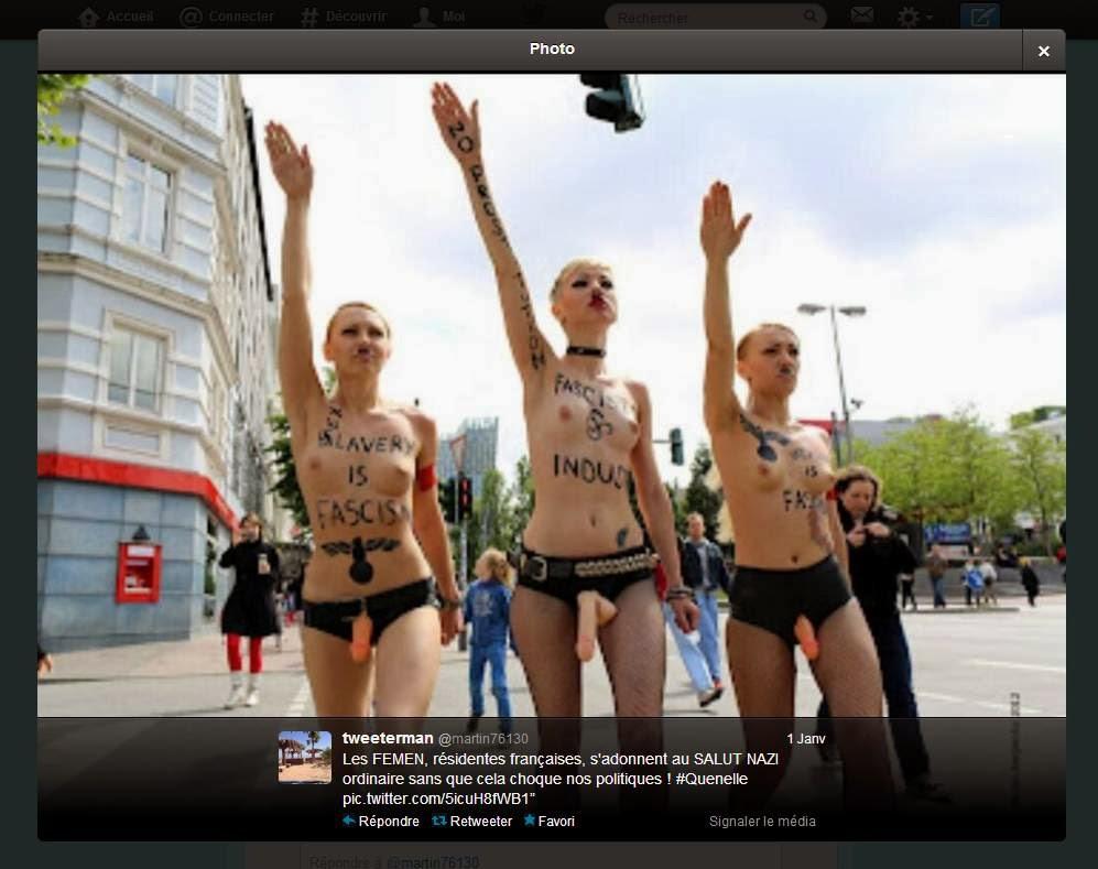 Les Chroniques De Rorschach: Quand les Femen font le salut ...