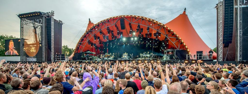 Festival de Roskilde en Dinamarca