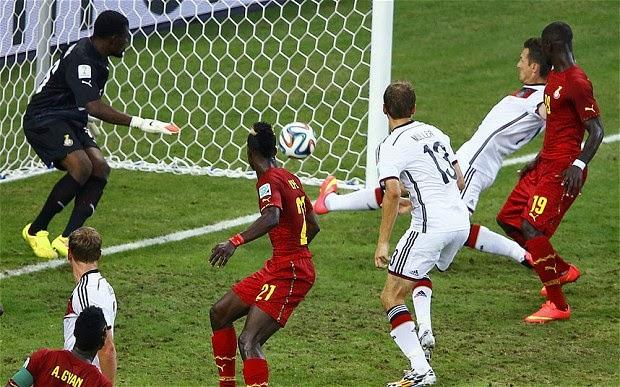 Jerman Berhasil Imbangi Ghana 2-2