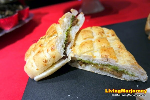 Grilled Pork and Emmenthal Cheese with Chimichurri