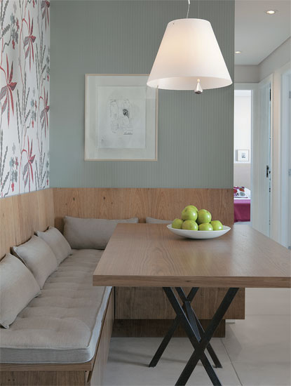 Sala De Jantar Com Banco ~ Oficina de Arquitetura Banco na sala de jantar