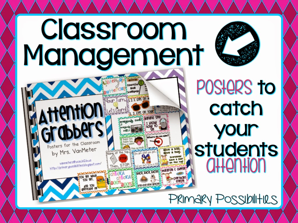 https://www.teacherspayteachers.com/Product/Attention-Grabbers-Behavior-Management-331546