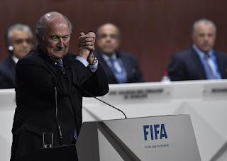 Janji Blatter setelah terpilih menjadi presiden FIFA
