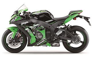 Kawasaki Ninja ZX-10R Pamerkan Motor Terbarunya Untuk Tahun 2016