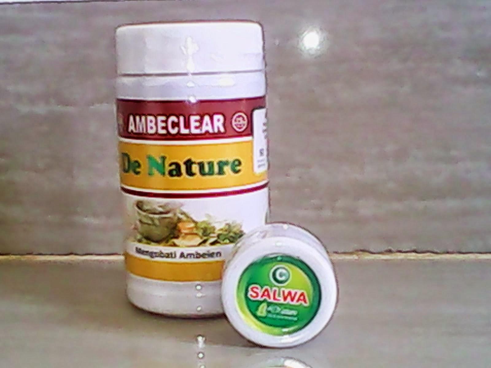 AMBECLEAR DAN SALEP SALWA