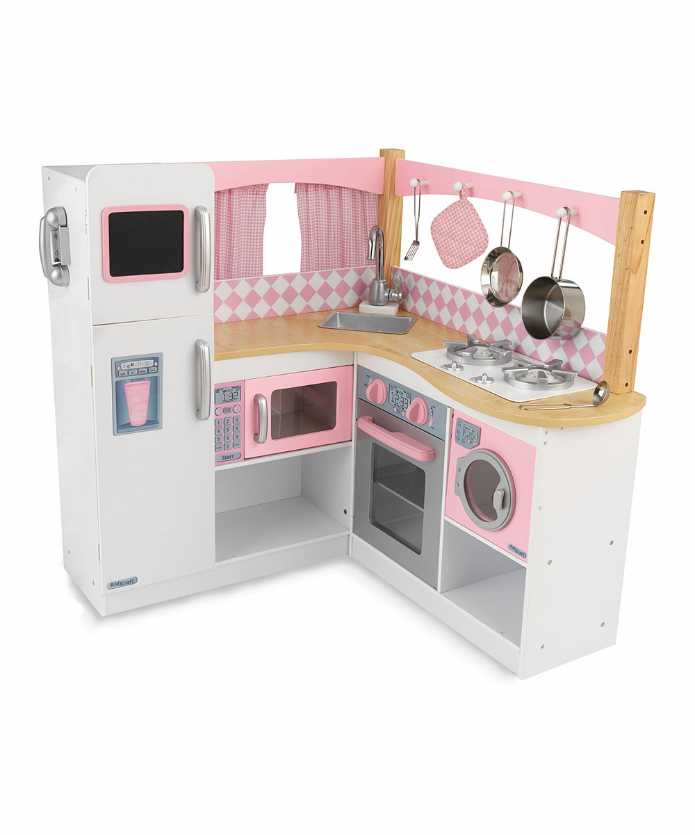 Kidkraft train set play kitchen and doll houses on sale for Kids kitchen set sale