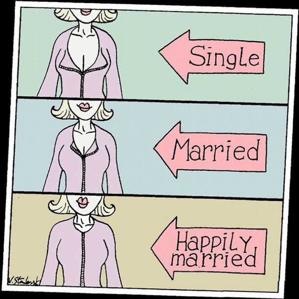 Single Married Happily Married Πώς ξεχωρίζεις αν μια γυναίκα είναι ελεύθερη ή δεσμευμένη?