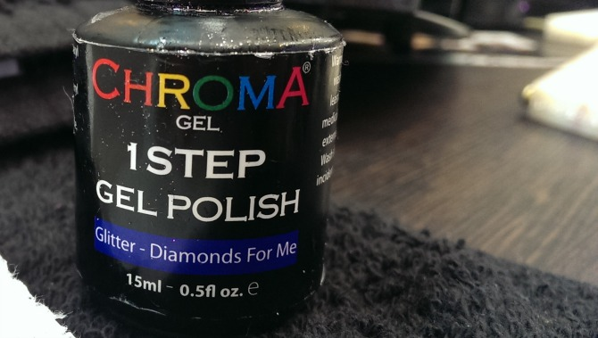 Chroma polish - Diamonds for me