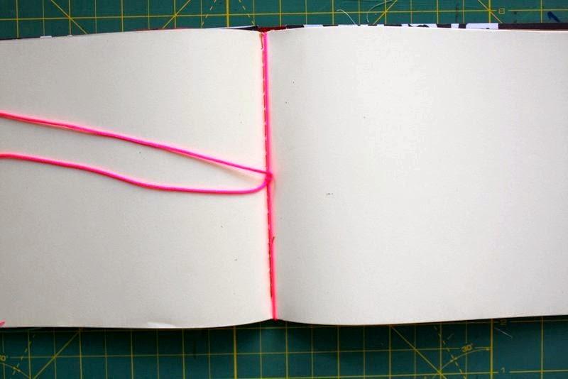 Heft Selber Binden danipeuss de tutorial travellers notebook selbst gemacht