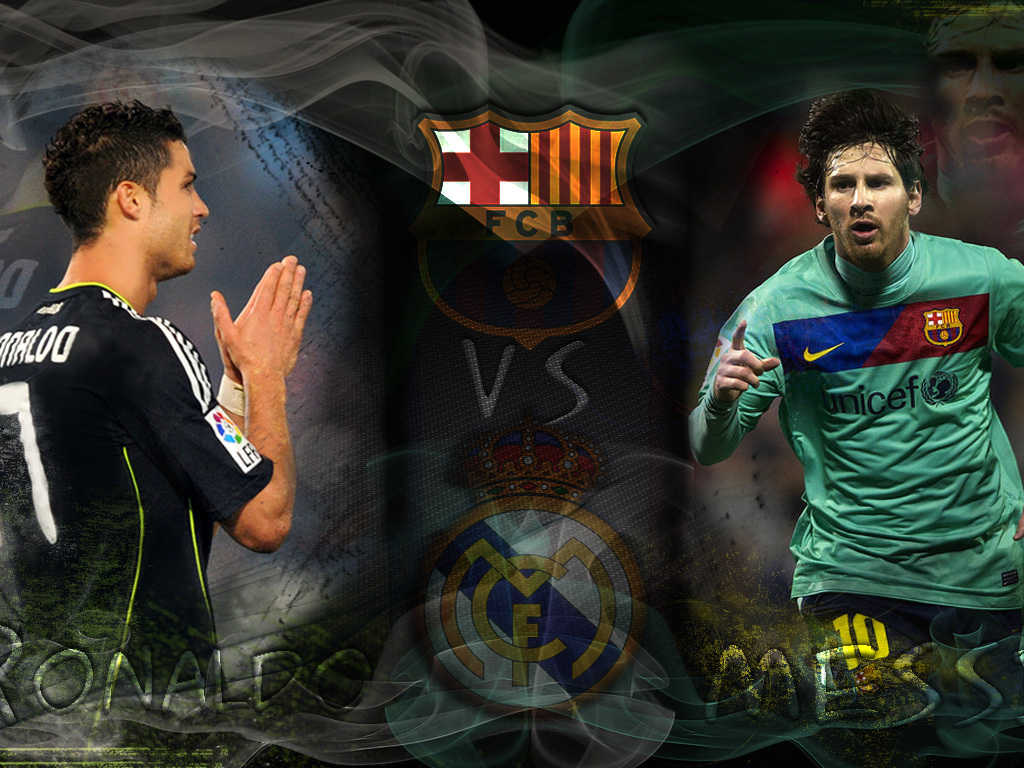 messi vs ronaldo vs kaka wallpaper