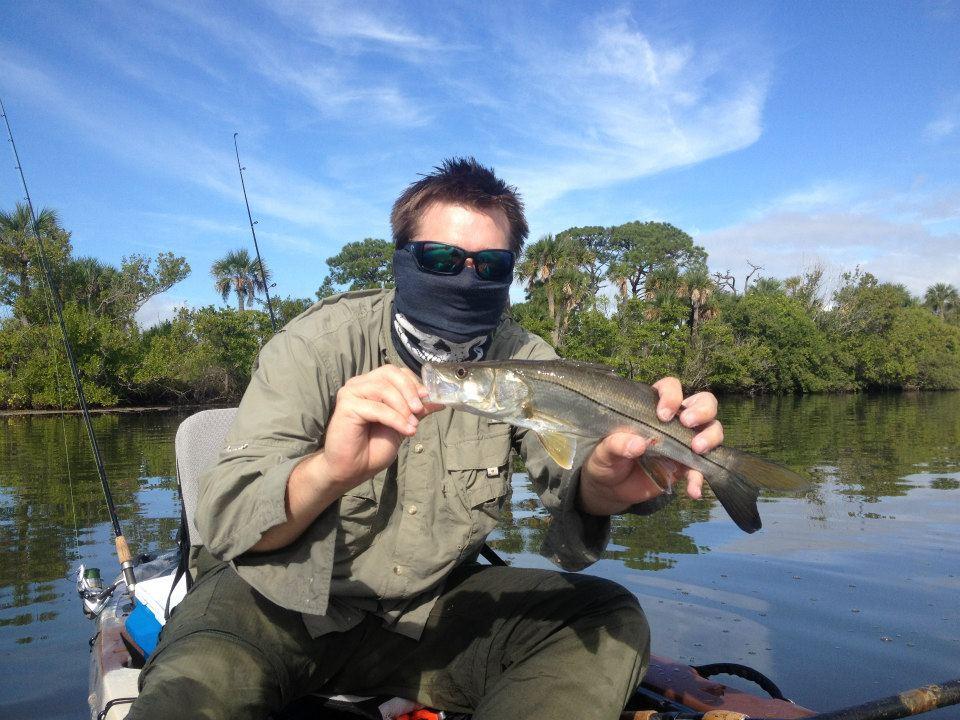 Jelly jon kayak angler fishing report banana river florida for Banana river fishing
