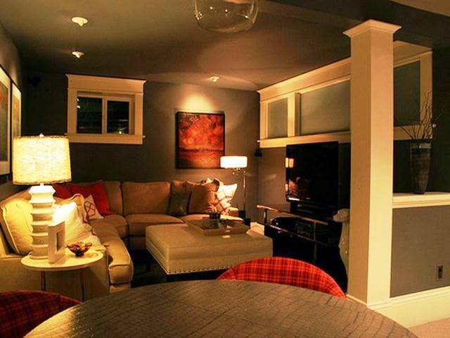 good paint color for dark basement