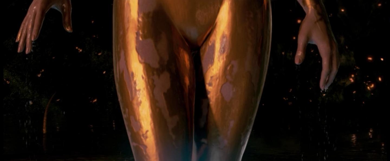 Brune round ass
