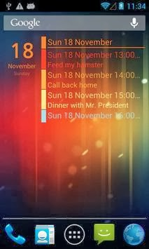 download Clean Calendar Widget Pro apk free