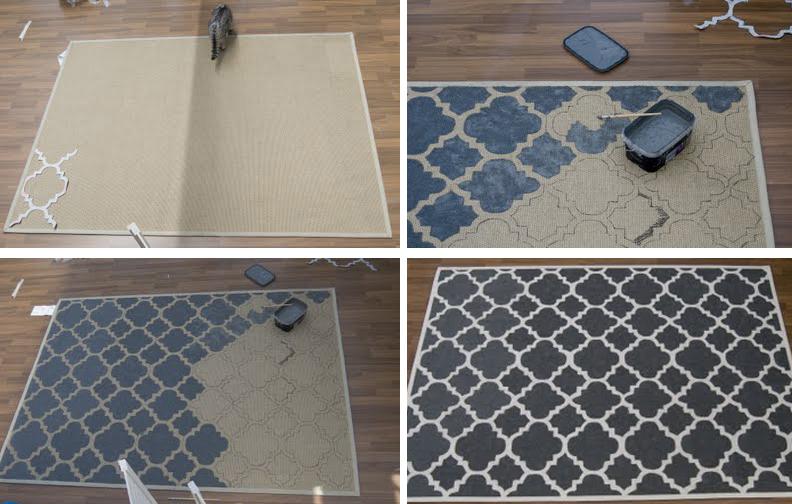 DIY} West Elm rug