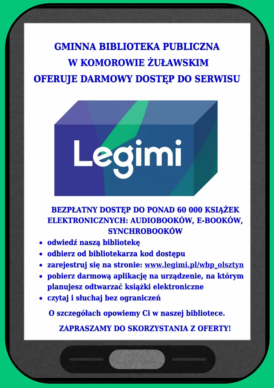 Dostęp do Legimi