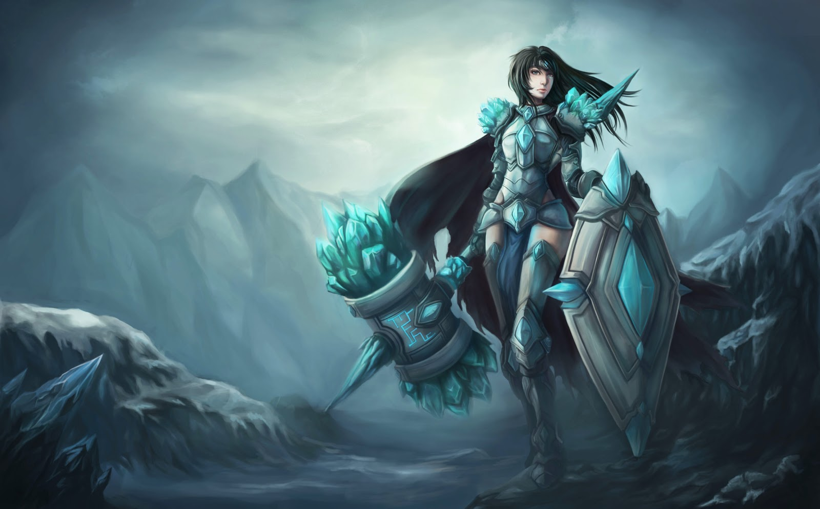 Ching's Garbage Can: New Artwork! League of Legend fan art! Cate Blanchett Relationships
