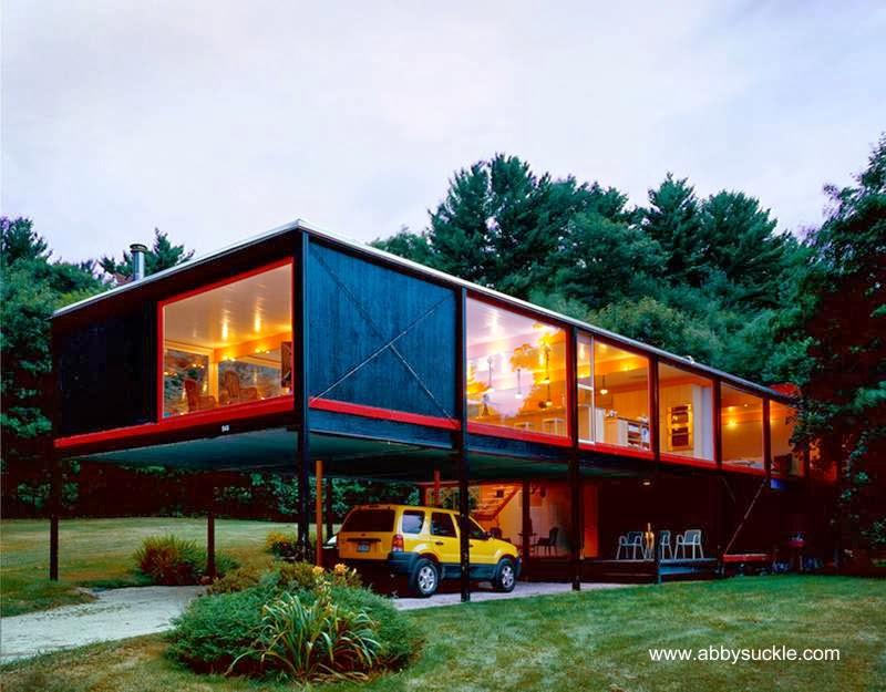 Residencia Boardman Mid Century en Massachusetts