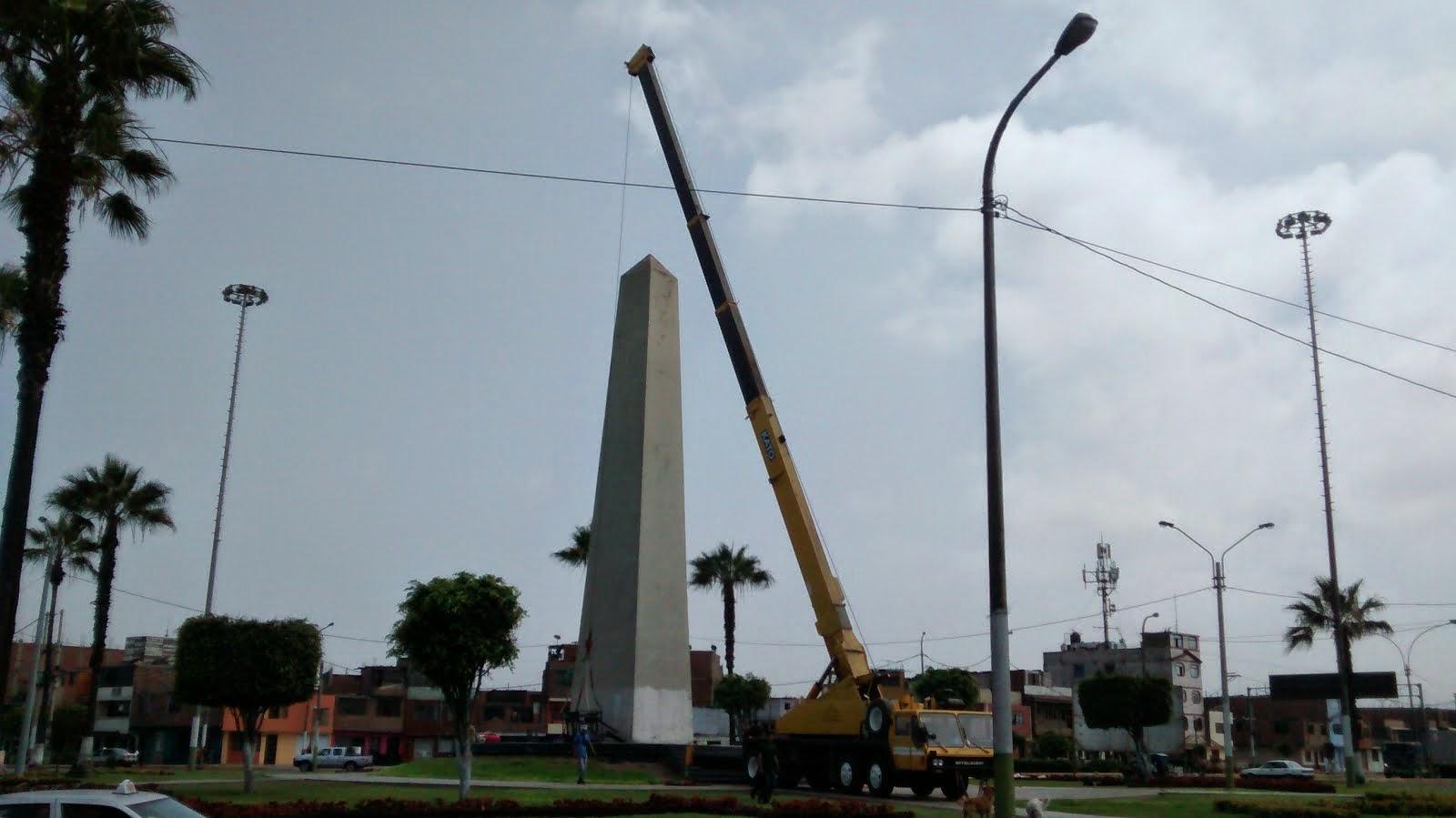 El Obelisco del Callao