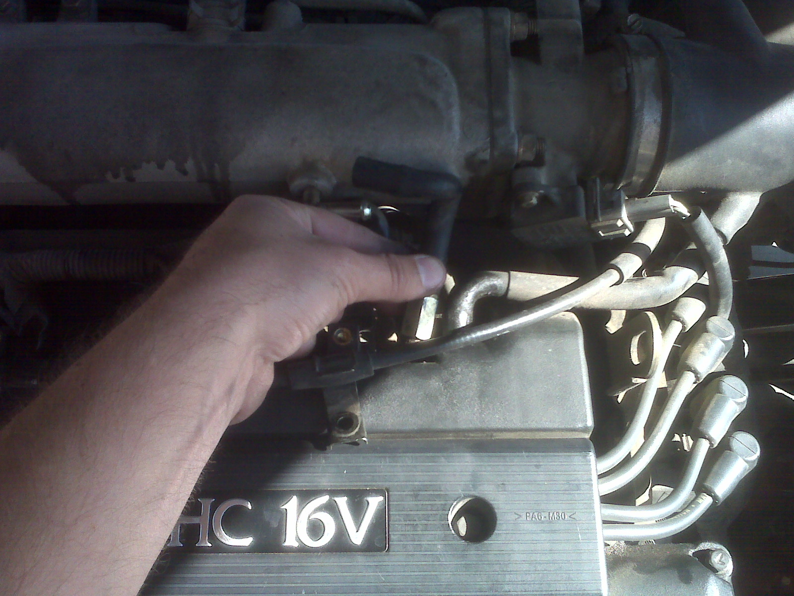 Omid S Diy Web Log 1999 Hyundai Elantra Pcv Valve Replacement