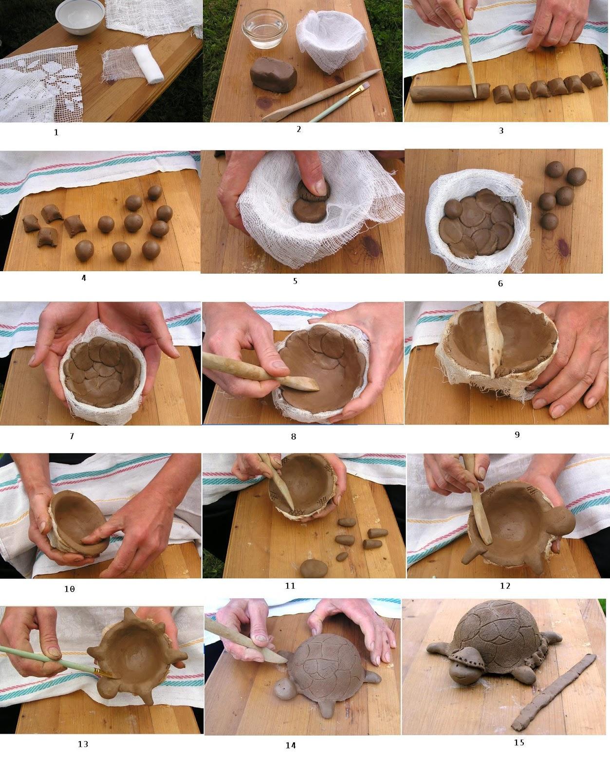 Изделия из глины как сделать 300