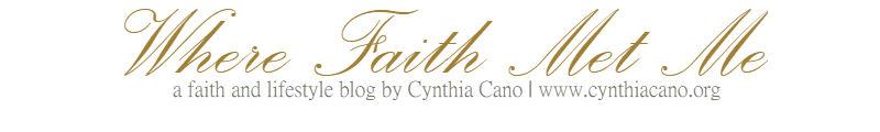 Cynthia Cano - Where Faith Met Me
