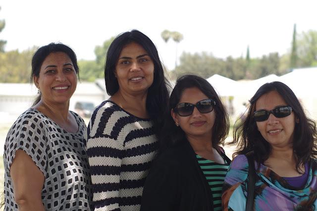 ladies group portrait